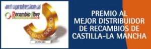 Premio Mejor Distribuidor de Castilla La Mancha