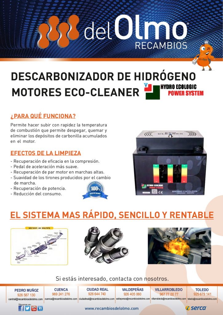 descarbonizadora Hydro Ecologic Power System