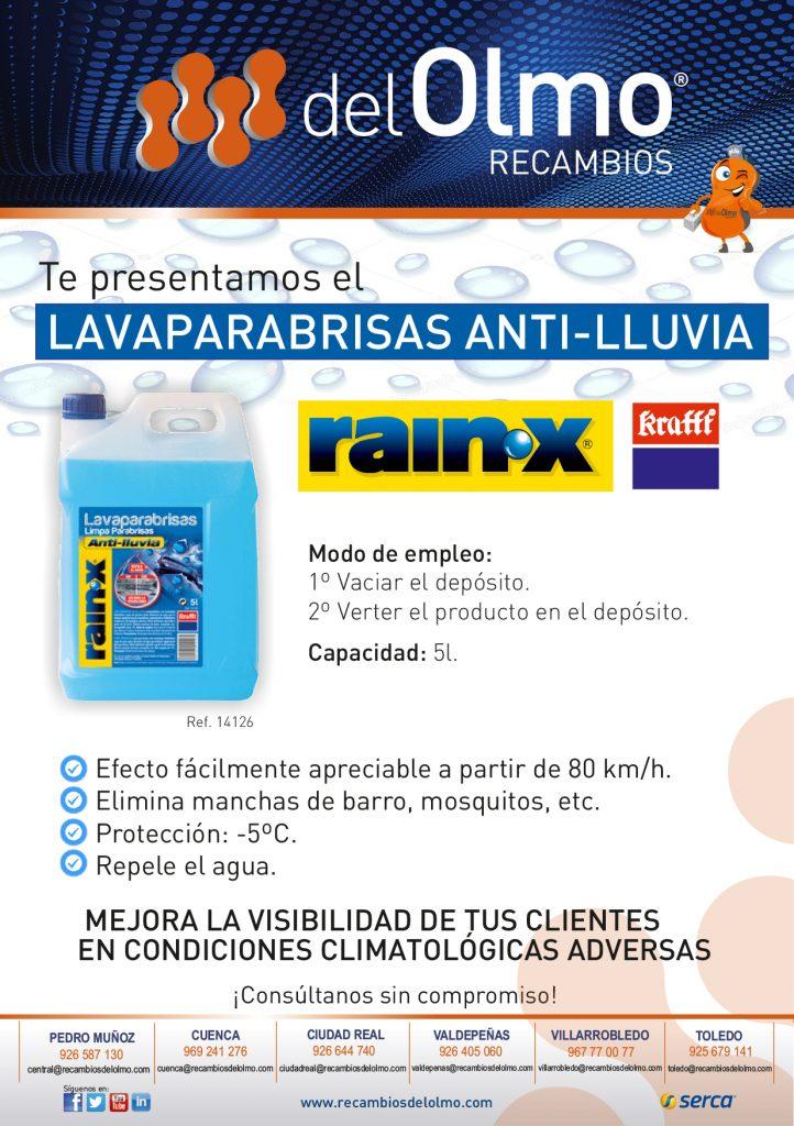 Limpia parabrisas RAINX
