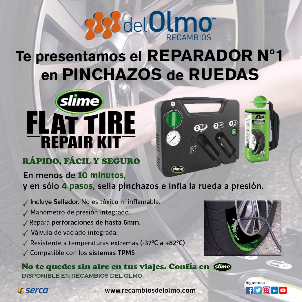Kit Reparador de Neumáticos SLIME